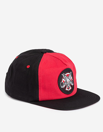 Фото Кепка Thrasher x Independent Pentagram Cross Snapback Cardinal
