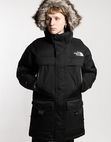 Фото Мужская куртка The North Face McMurdo 2 Parka Black