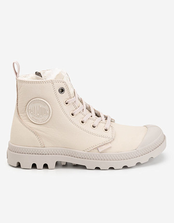 Фото Ботинки Palladium Pampa Hi Zip Low Whitecap Gray