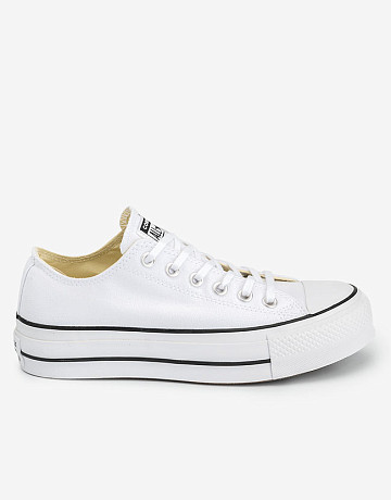 Фото Кеды Converse Chuck Taylor All Star Lift Ox White