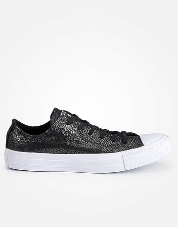 Фото Кеды Converse Ox Black/Silver/White