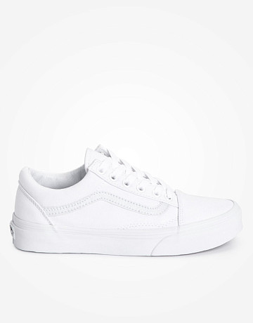 Фото Кеды Vans Old Skool True White