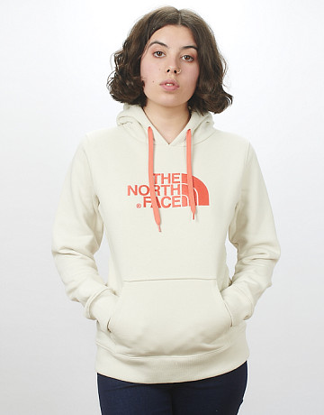 Фото Женская толстовка The North Face Drew Peak Vintage White/Spicd Coral