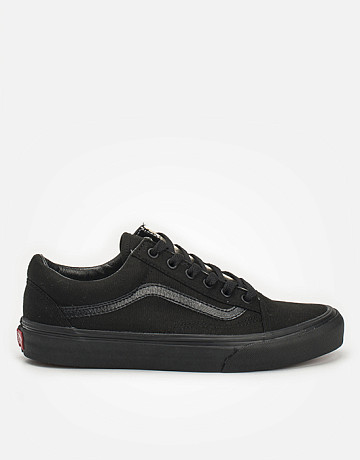 Фото Кеды Vans Old Skool Mono Black