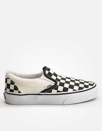 Фото Кеды Vans Classic Slip-On Black and White Checker