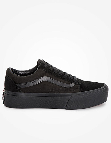 Фото Кеды Vans Platform Old Skool Mono Black