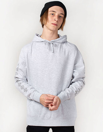 Фото Мужская толстовка Thrasher x Independent Pentagram Cross Hoody Grey