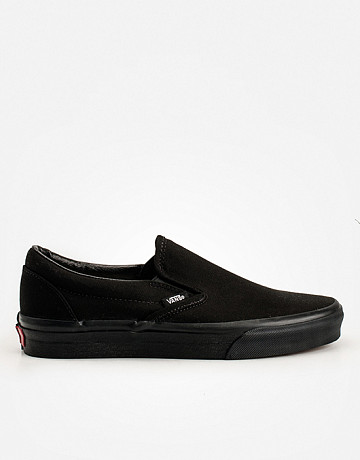 Фото Кеды Vans Classic Slip-On Mono Black