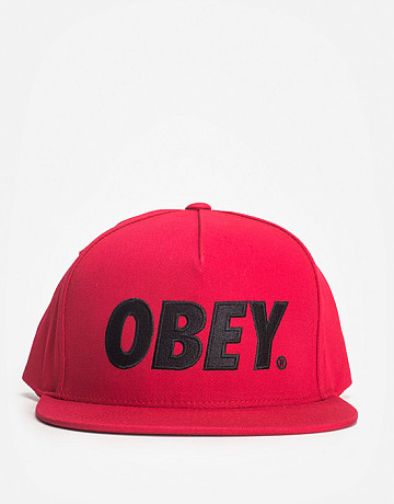 Фото Кепка Obey The City True Red