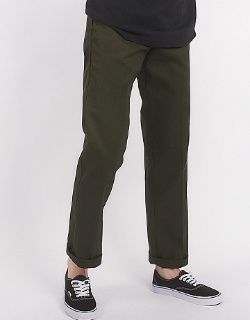 Фото Мужские брюки Dickies Slim Straight 873 Work Pant Olive