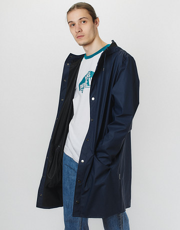 Фото Дождевик Rains 1202 Long Jacket Blue