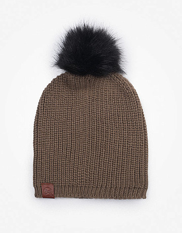 Фото Шапка BUFF Knitted Adalwolf Brown